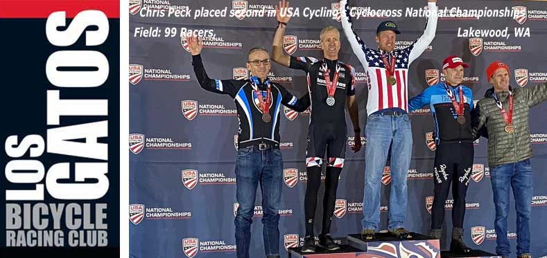 Chris Peck, 2nd in Cyclocross Nationals