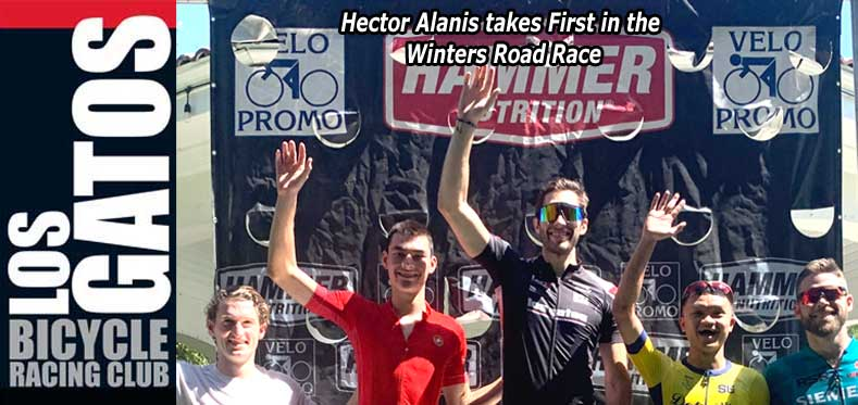 Hector Alanis wins Winters Road Race