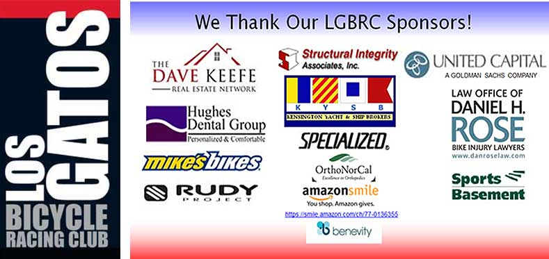 LGBRC Thanks our Sponsors