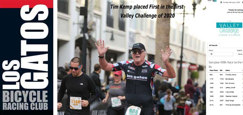 Tim Kemp, Valley Challege